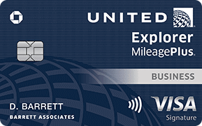 The United Explorer Business Card is offering 75,000 bonus miles and a waiver on the first year's annual fee.