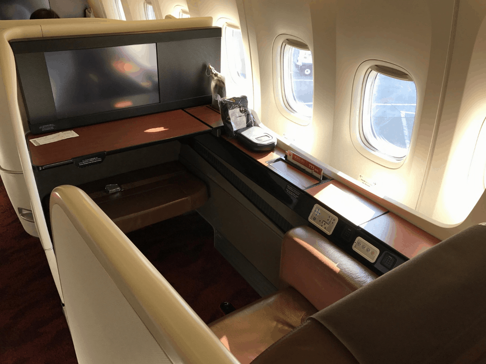 japan airlines jal first class