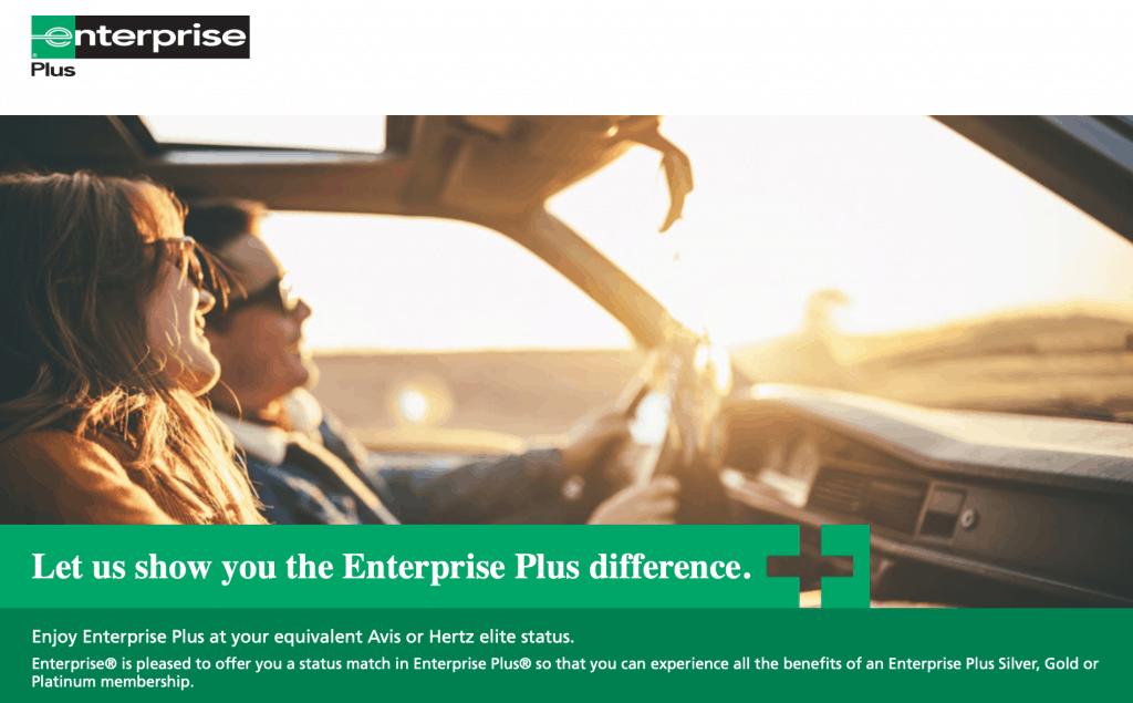 enterprise plus status match