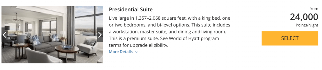 Hyatt Regency Orlando - Presidential Suite