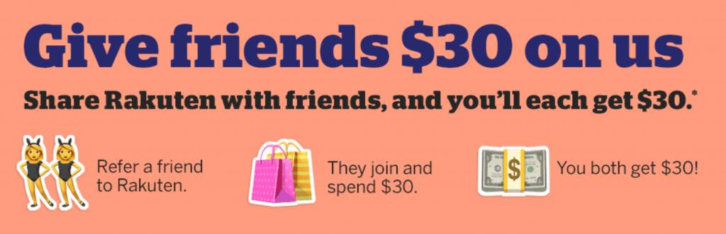rakuten ebates 3,000 membership rewards