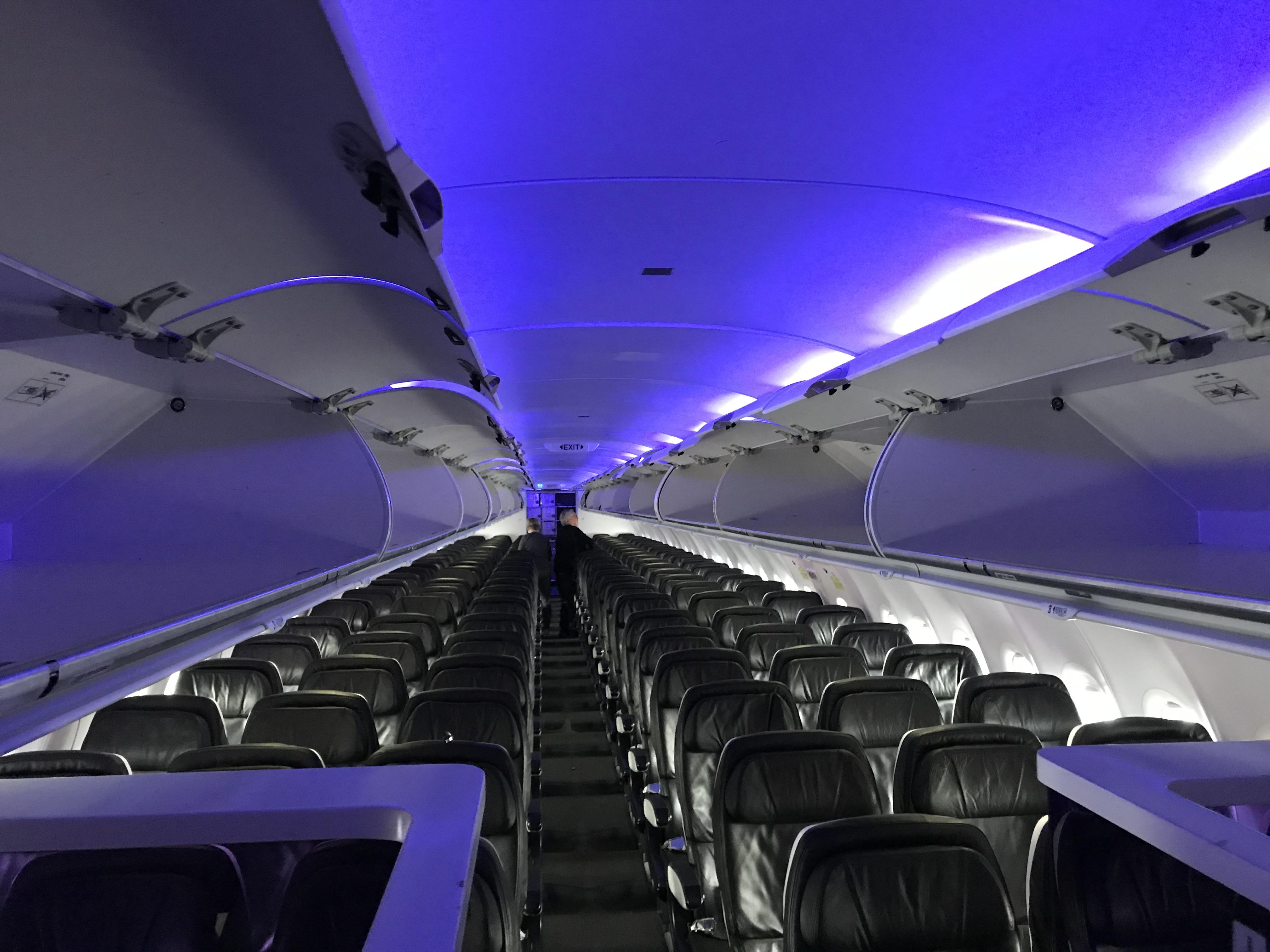 Review Virgin America Alaska Airlines First Class Jfk