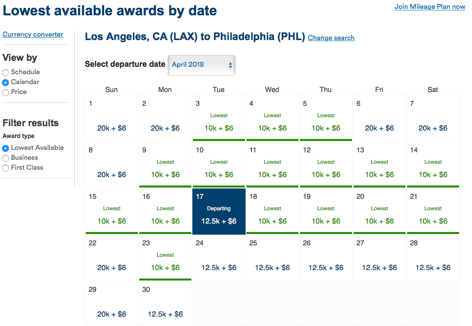 alaska airlines award sale