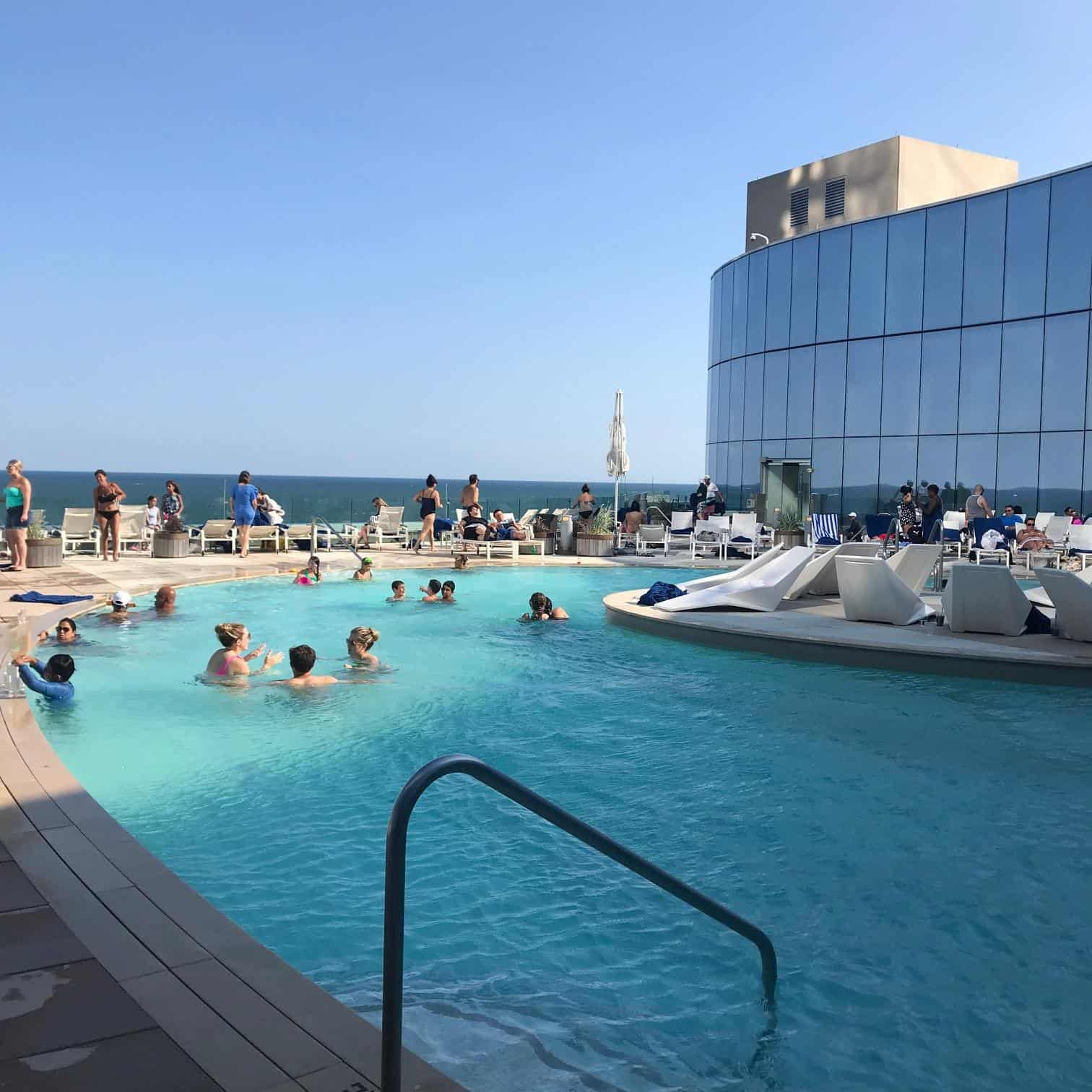 Pool at Ocean AC