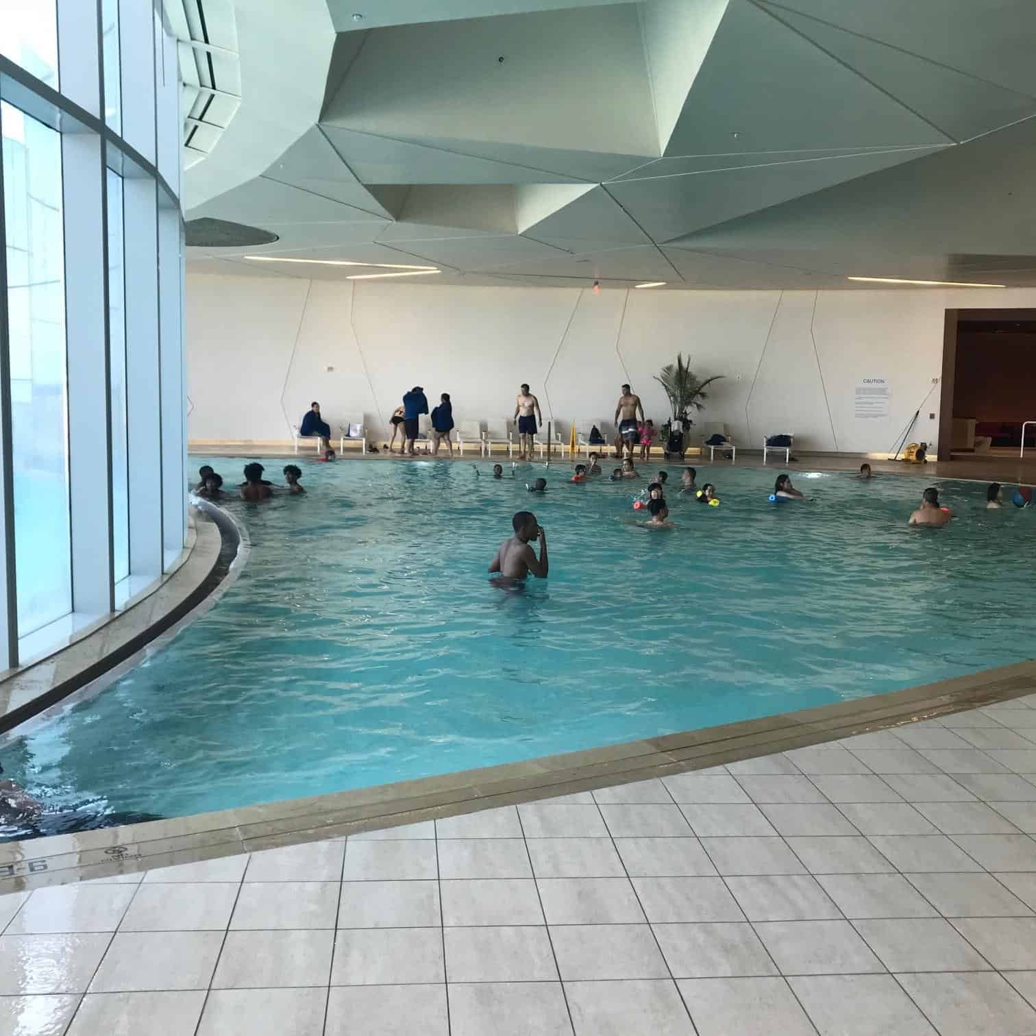 Indoor Pool at Ocean AC