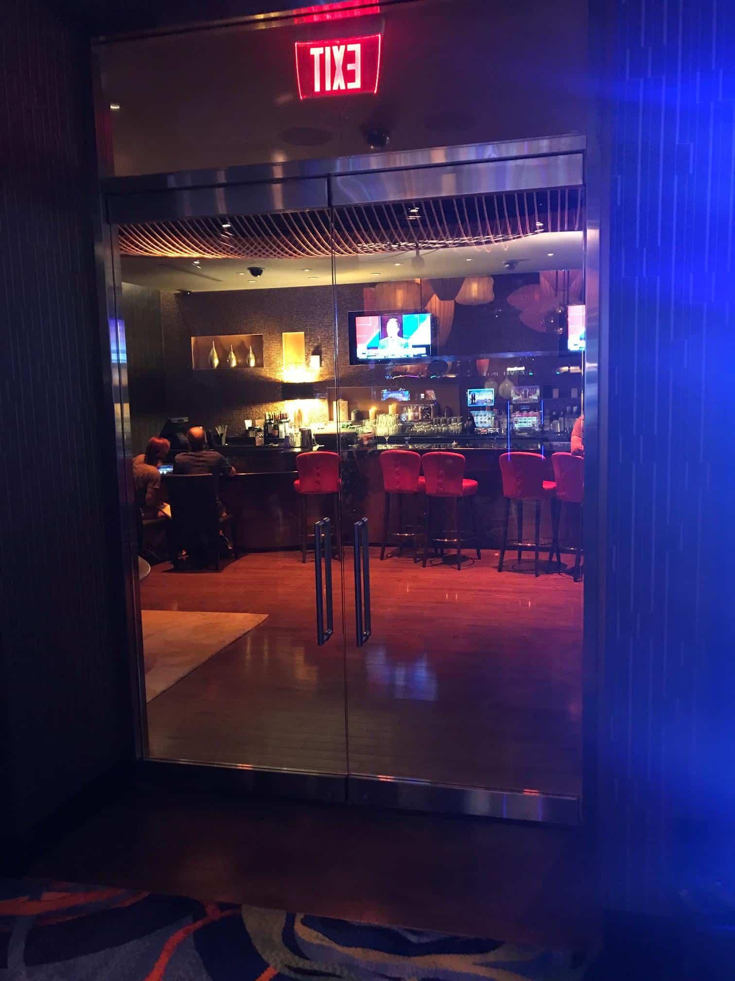 Secret Entrance to the Black Card Players Lounge, inside High Limit Slots - Ocean AC