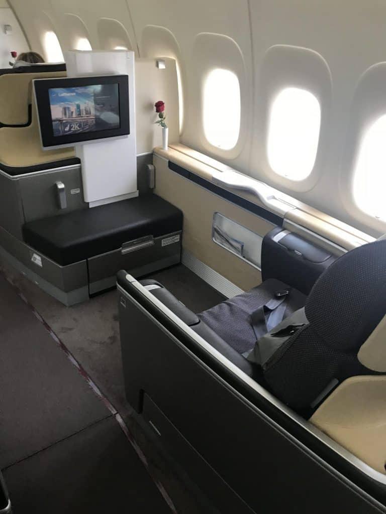 Lufthansa First Class 747-800