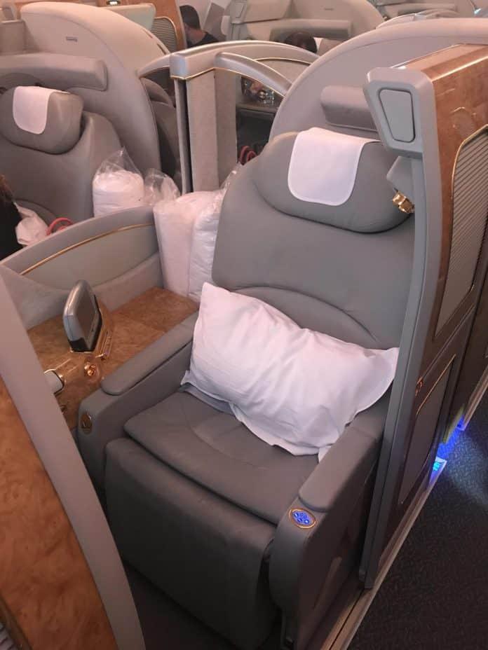 Emirates First Class (A380)
