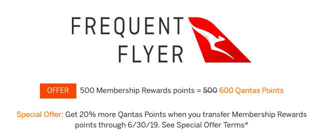 amex qantas transfer bonus