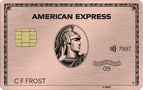 amex rose gold card