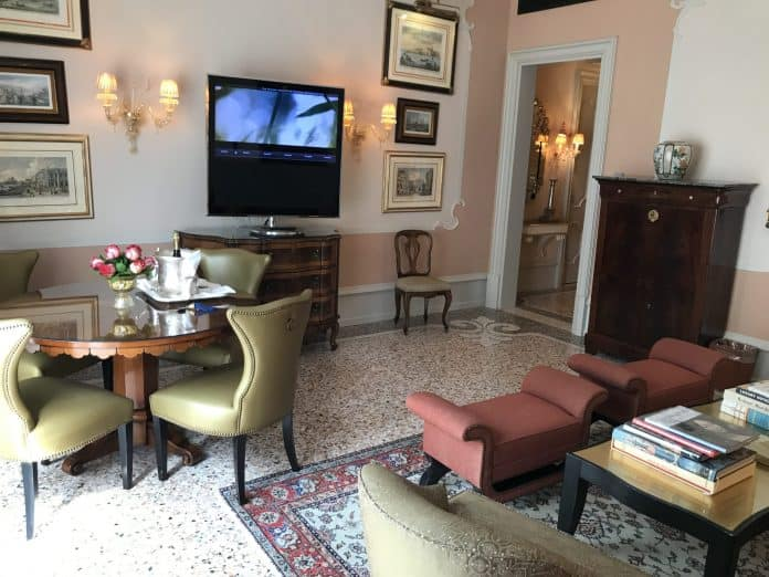 Gritti Palace Suite Upgrade