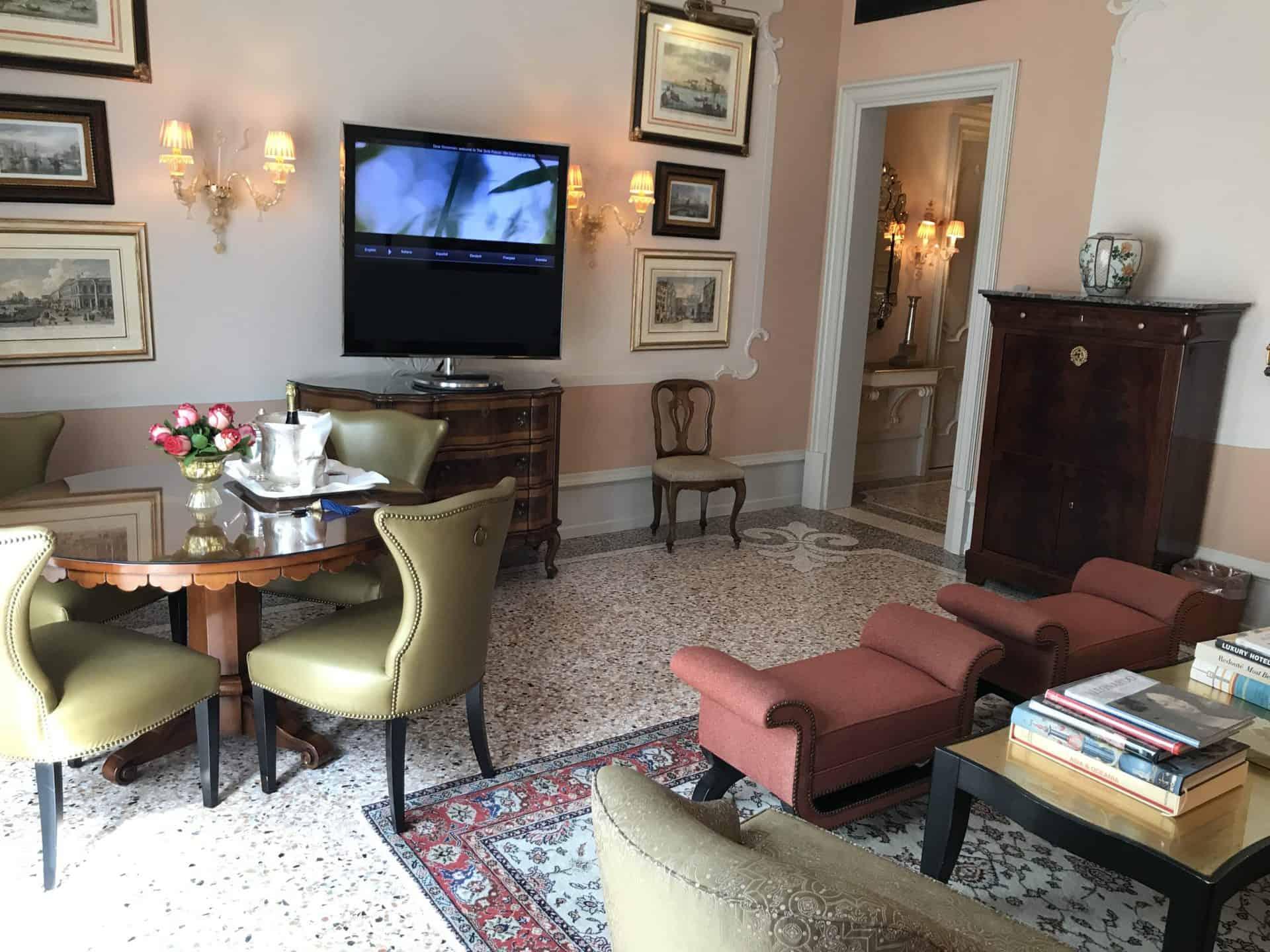 Gritti Palace Suite Upgrade