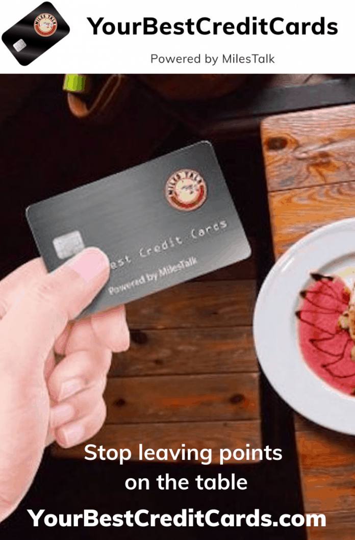 best credit cards for food delivery services