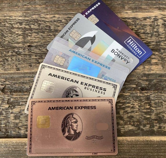 Amex cards