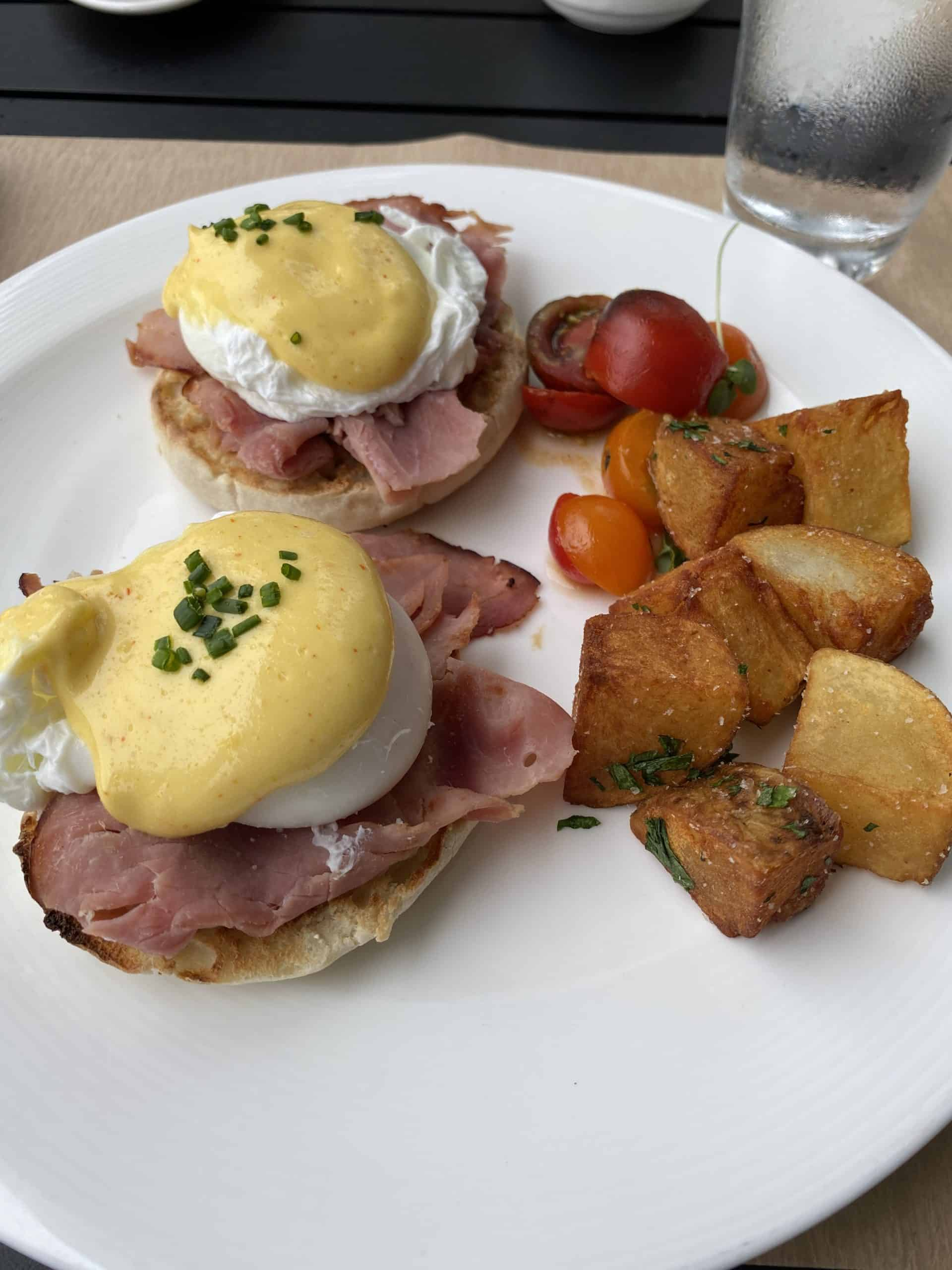 Jean Georges Bridgehampton Eggs Benedict