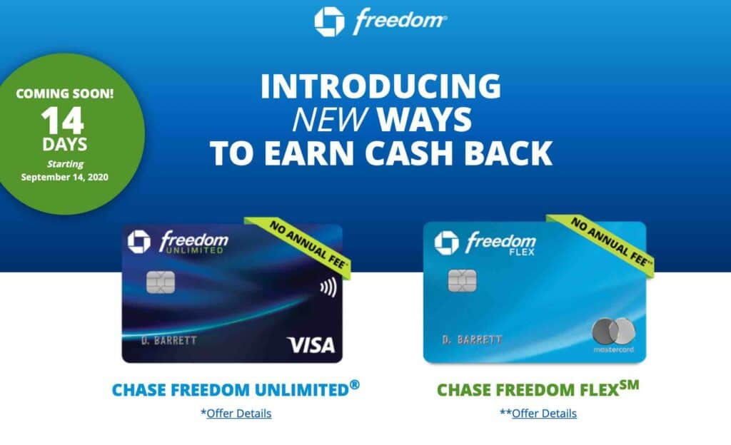 chase freedom flex