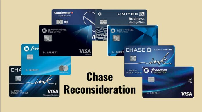 chase reconsideration line