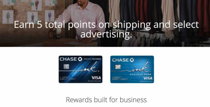 chase 5x on shipping and advertising