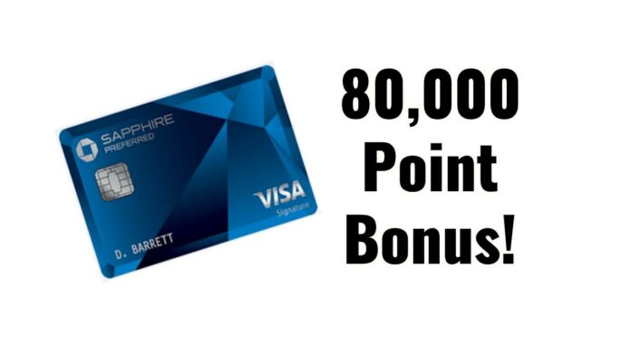csp sapphire preferred 80,000 80k