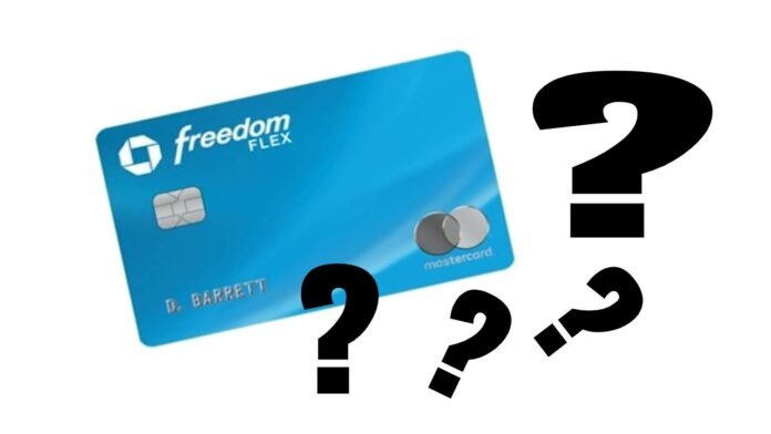 chase freedom flex frequently asked questions