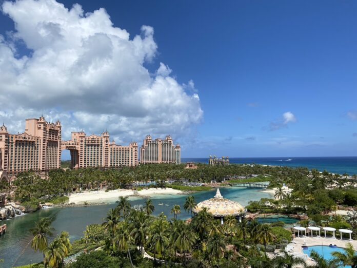 Atlantis Coral Tower View
