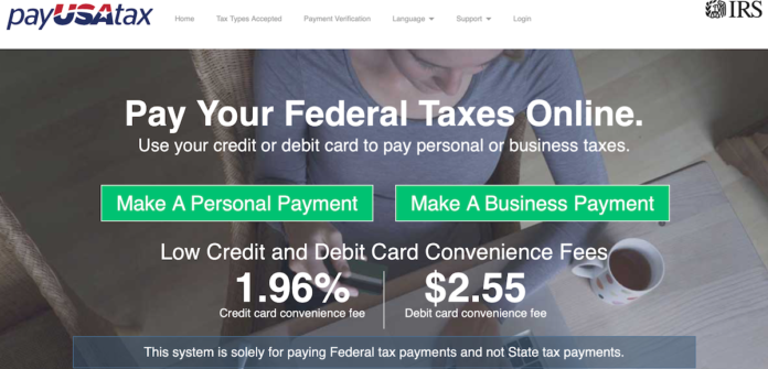 pay tax paypal