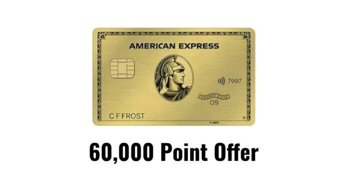 amex gold 60k