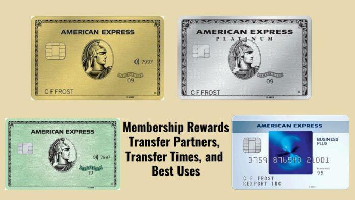 amex american express membership rewards transfer partners