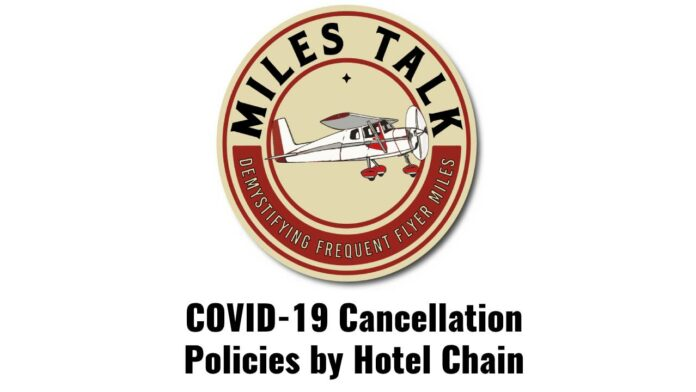 hotel covid cancellation policy hyatt hilton marriott ihg