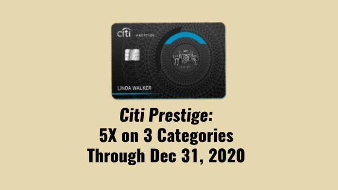 citi prestige 5x
