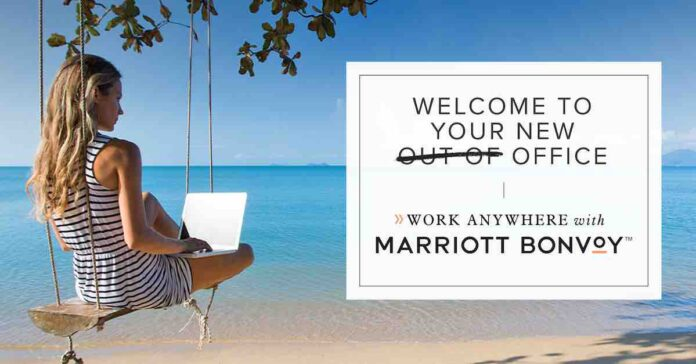 marriott work from anywhere
