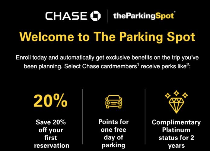 Chase theParkingSpot