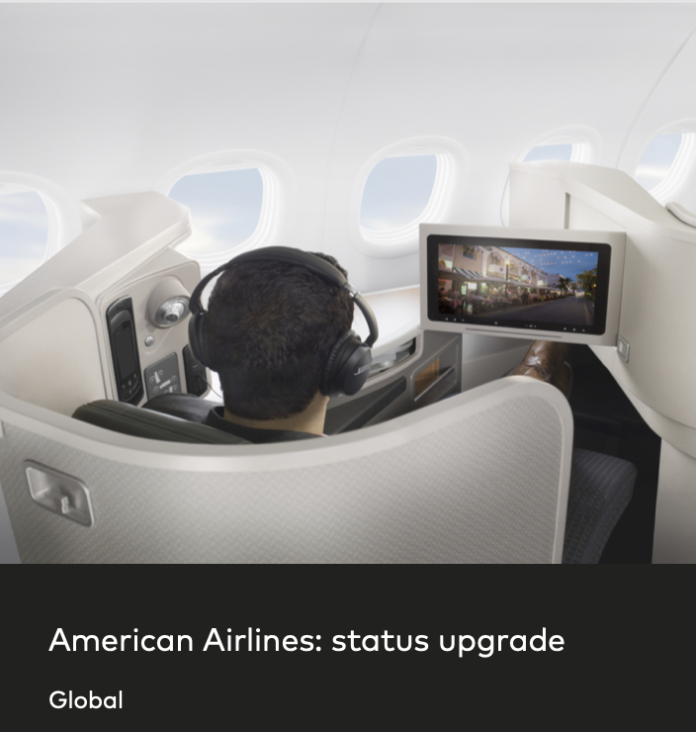 aa american airlines elite status offer