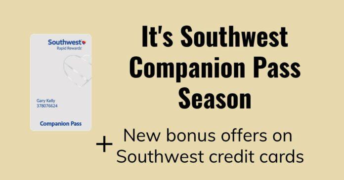 southwest companion pass credit cards