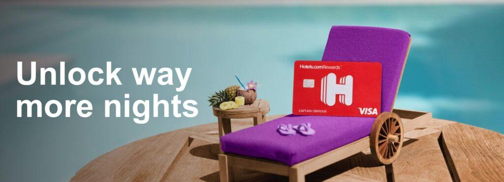 hotels.com credit card