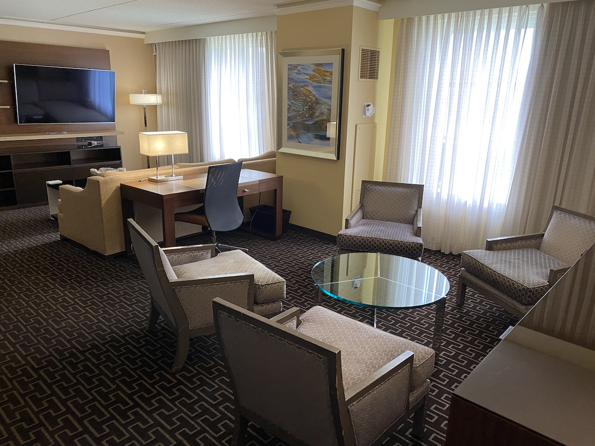 Hyatt Regency Greenwich Fairfield Suite