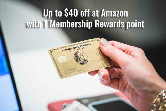amazon one point membership rewards amex