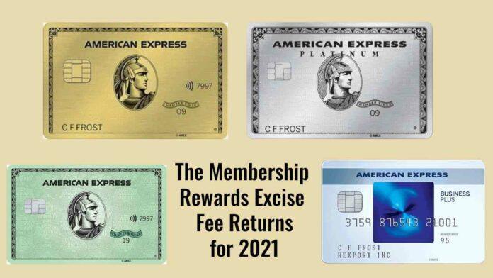 amex excise fee