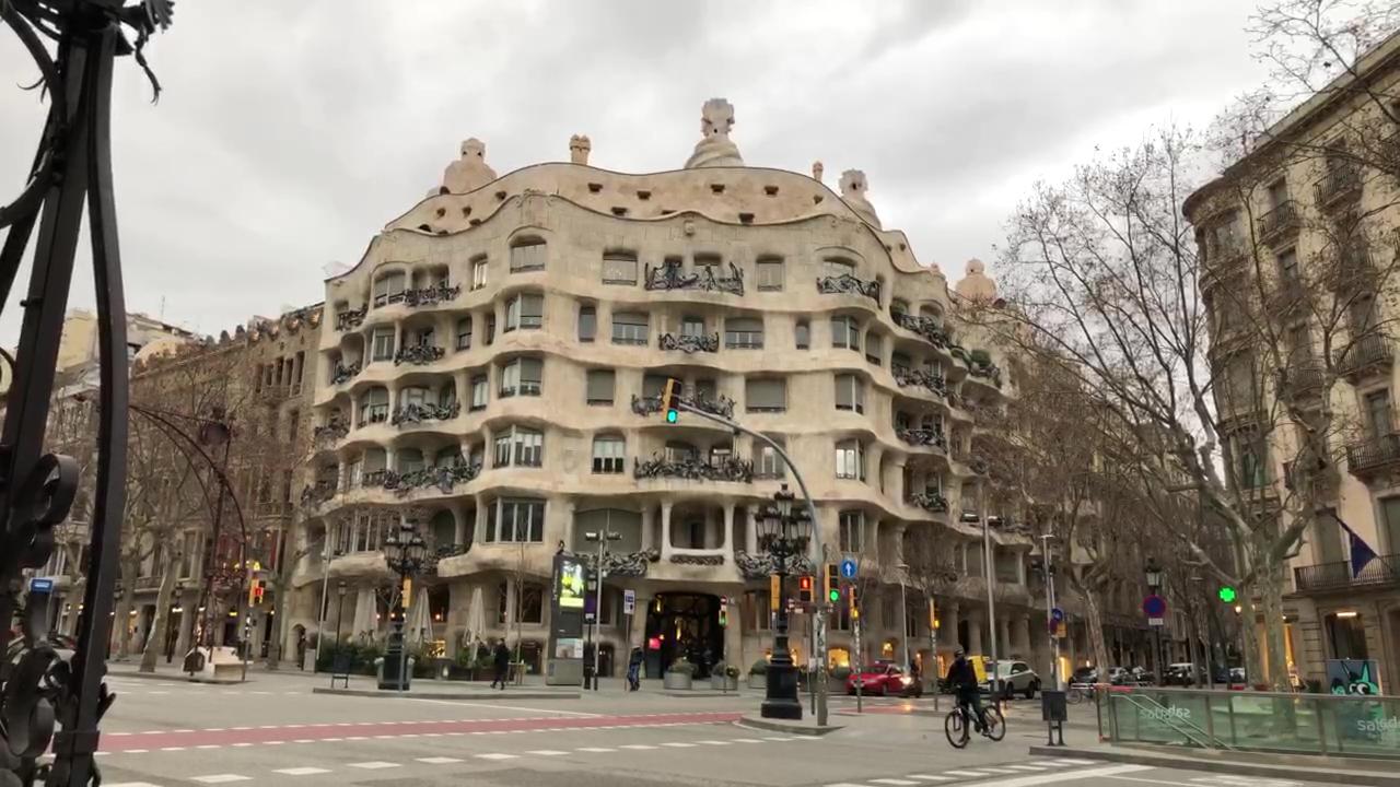 Casa Mila Gaudi Building