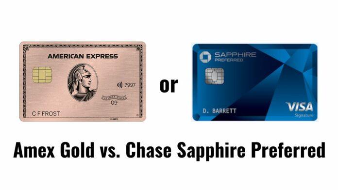 amex gold vs. chase sapphire preferred csp