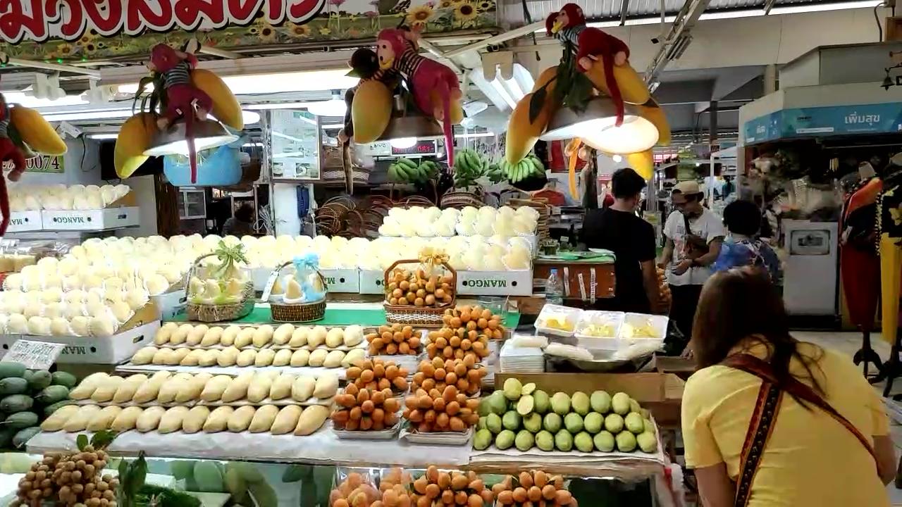 A food market in Bangkok