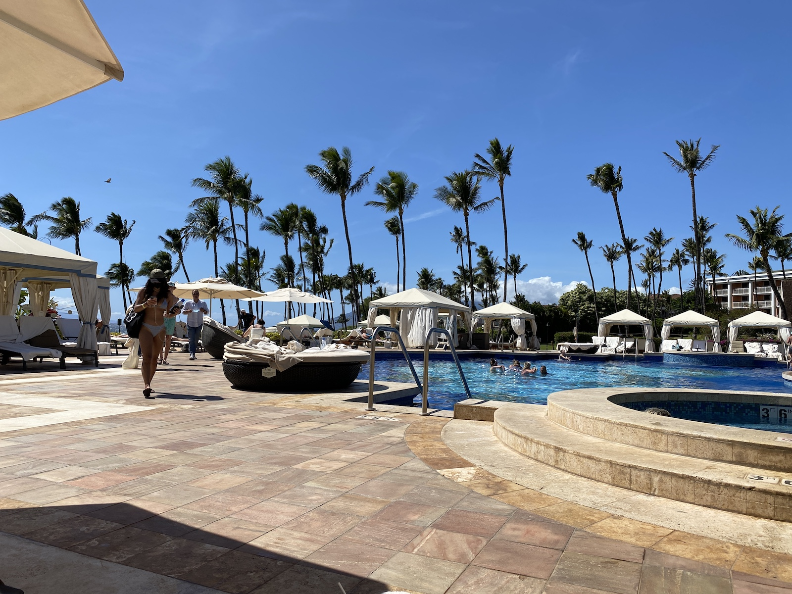 waldorf astoria grand wailea maui review pool