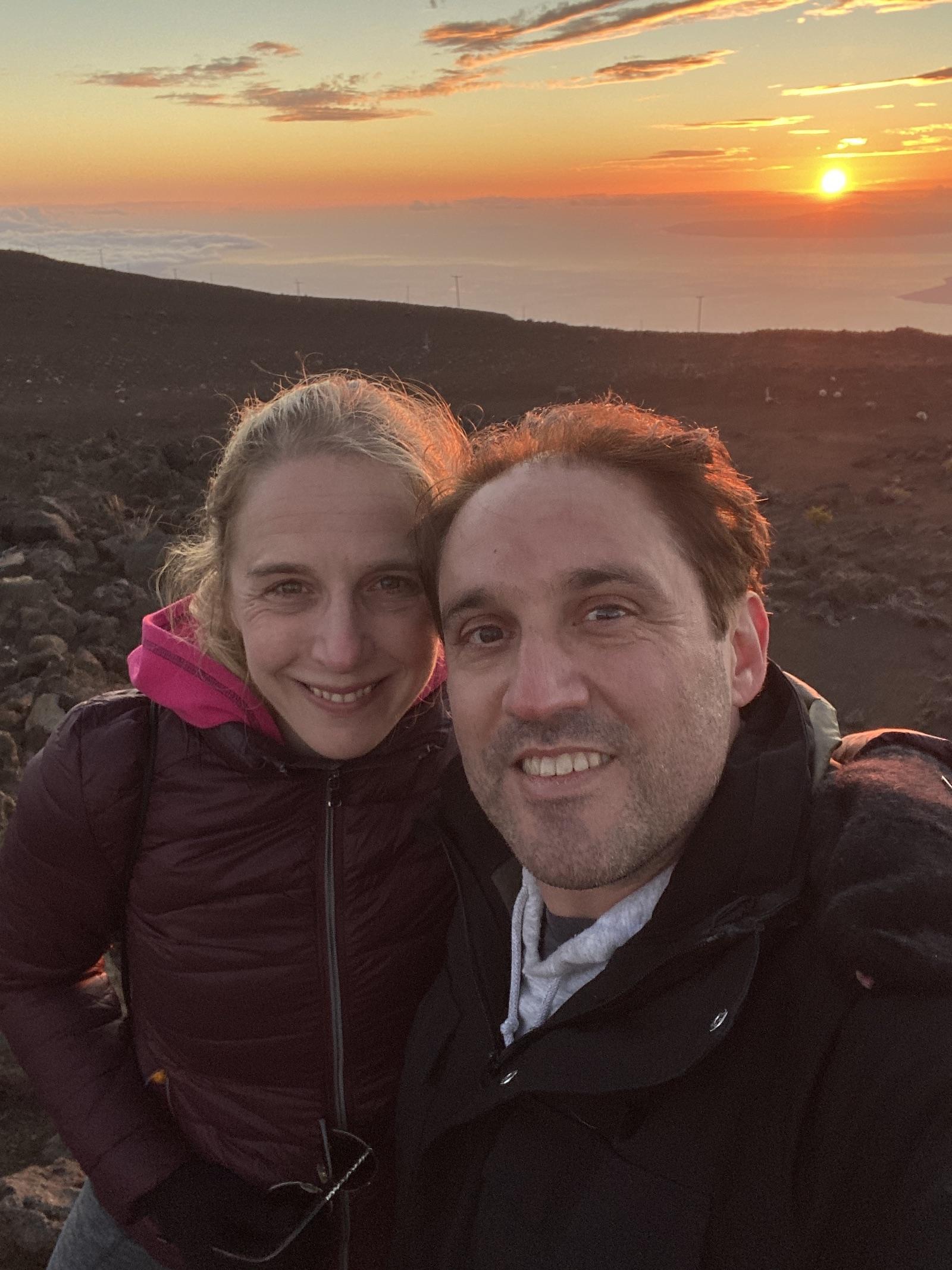 Haleakala view - Sunset