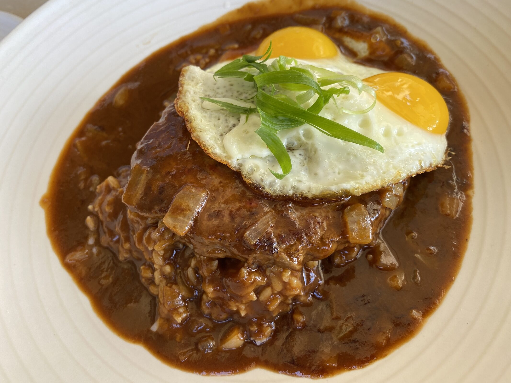 Grand Hyatt Kauai - Breakfast - Loco Moco