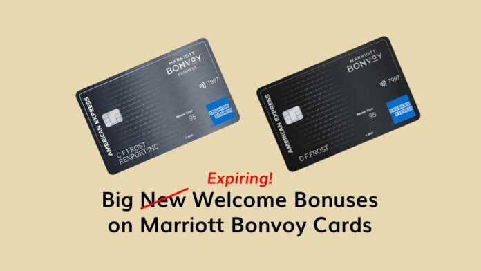 bonvoy credit card bonus offers