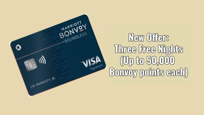 bonvoy boundless 3 50k nights