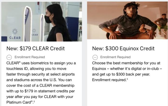 amex platinum benefit changes