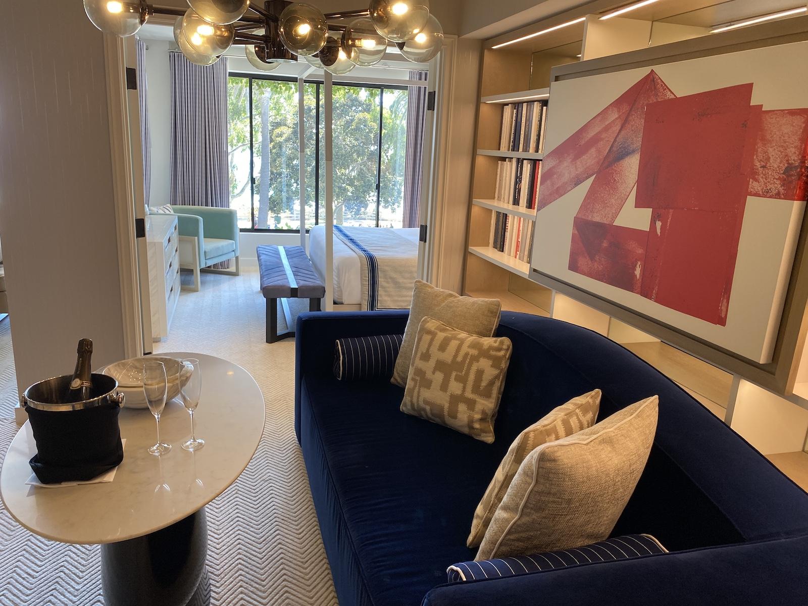 Oceana Santa Monica - Ocean View Suite Living Room