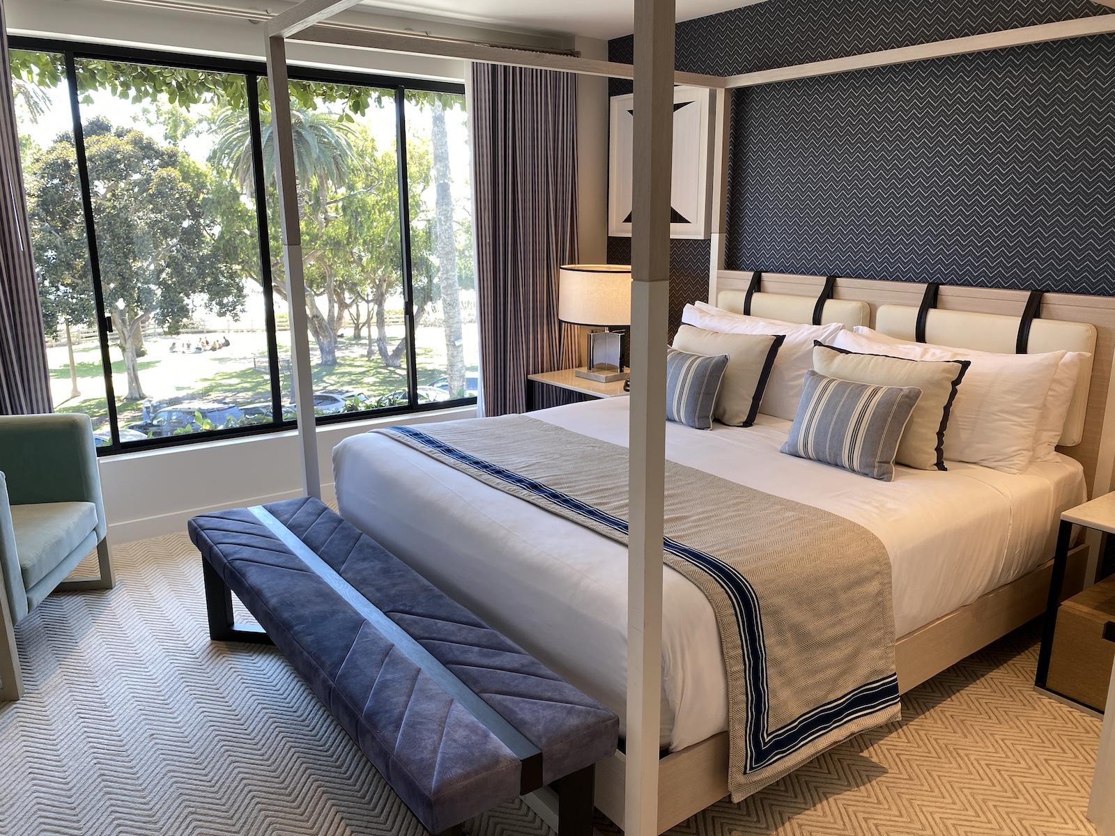Oceana Santa Monica - Ocean View Suite Bedroom