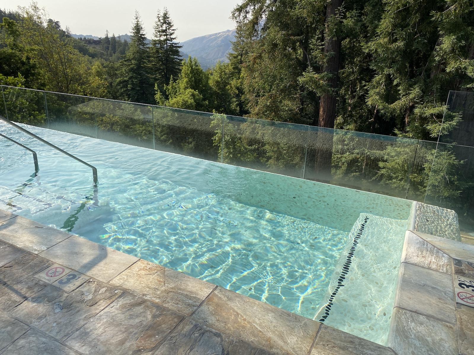 Ventana Big Sur Infinity Hot Tub